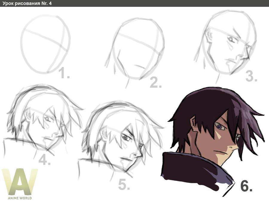 hei drawing tutorial by lonwu
