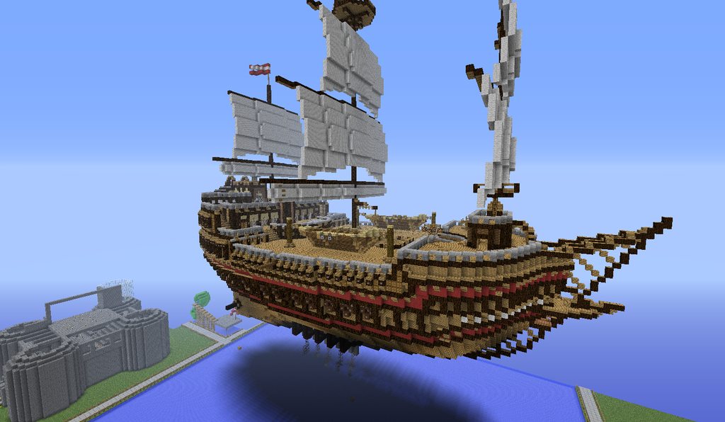 How To Build A Small Boat Minecraft
