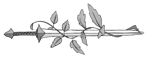 Sword-and-vine by dalish-ish