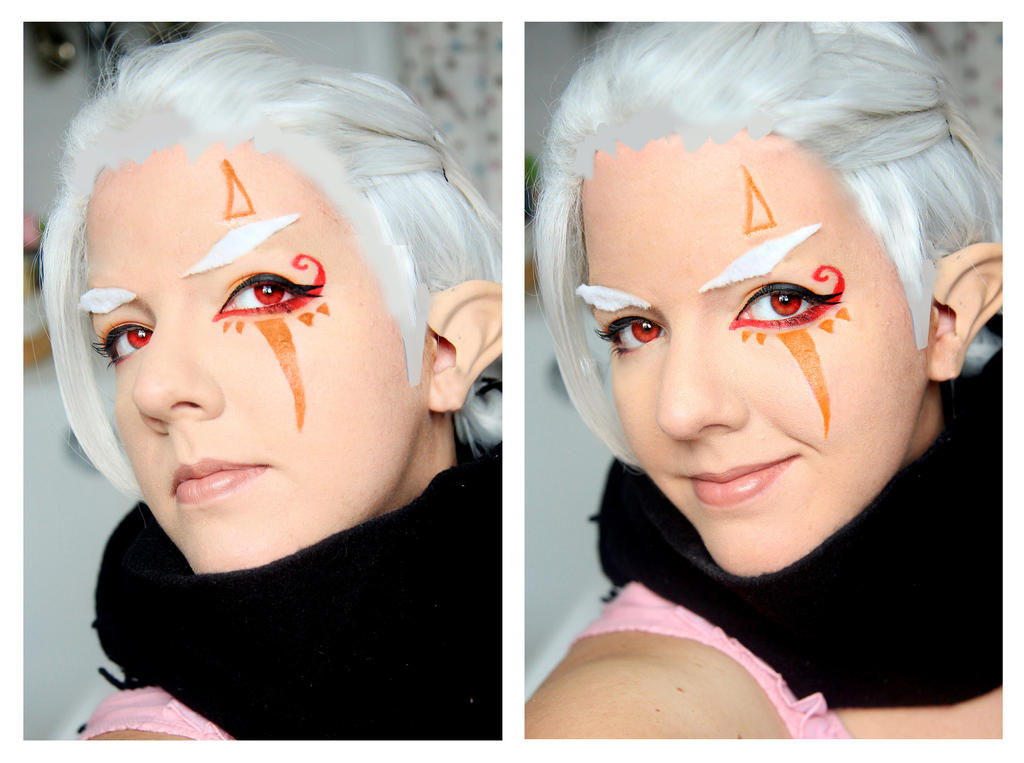 Hyrule Warriors Impa Make up Test by Daishota