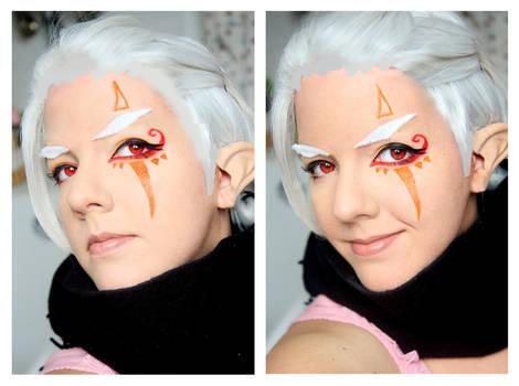 Hyrule Warriors Impa Make up Test