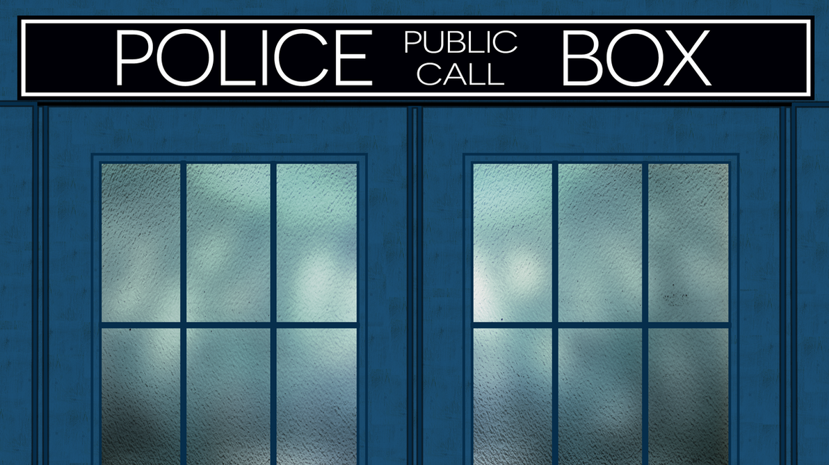 Tardis Window Wallpaper by Asuba95