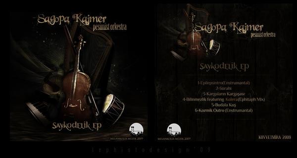 saykodelik ep cover by LephistoDesign