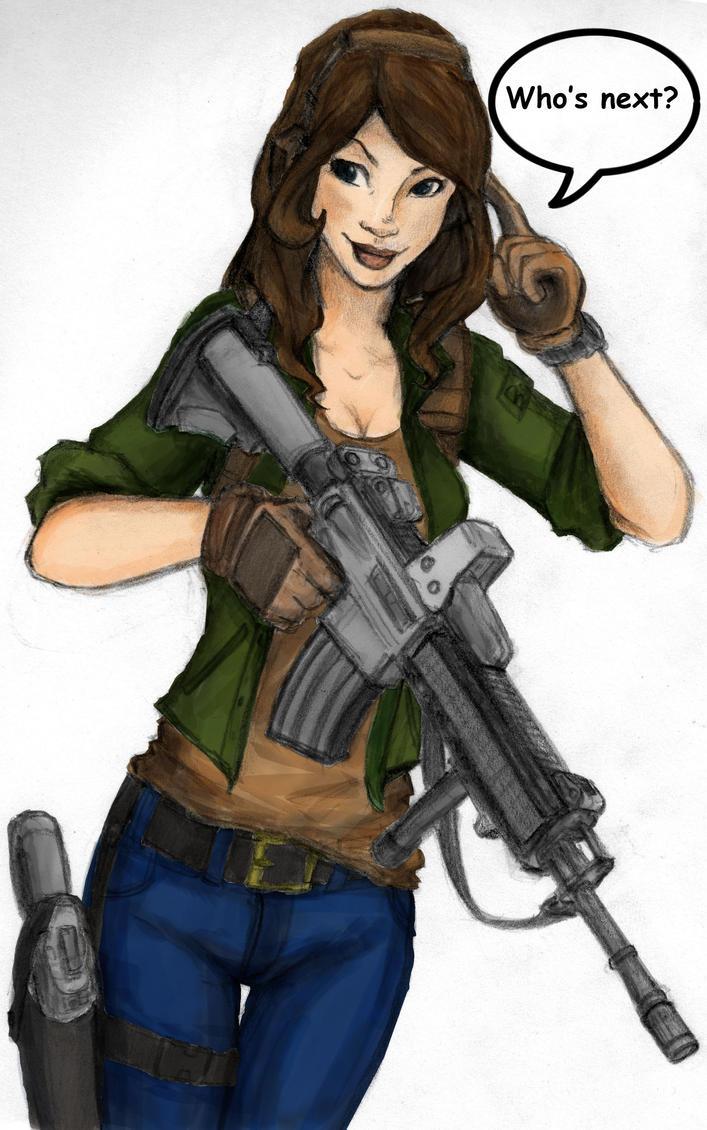 Gamer Girlfriend Comic Gamer Girl colored by ...