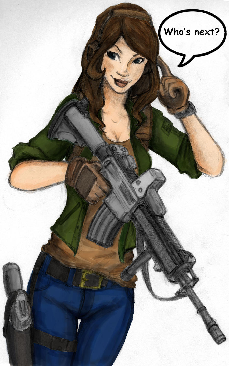 girl gamer requested by bro10 minecraft skin