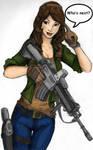 Gamer Girl colored