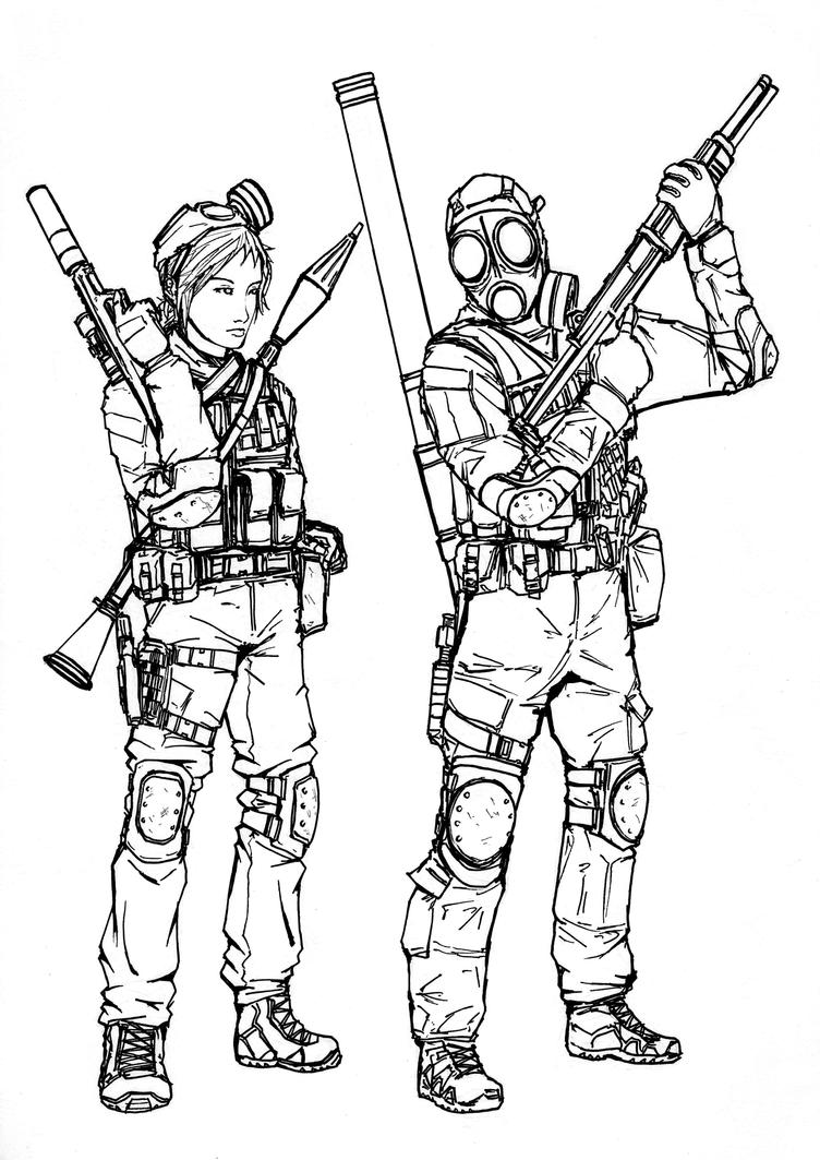 battlefield 4 coloring pages - photo#2