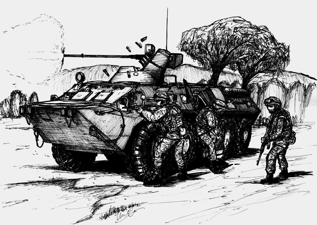 BTR-80 by ThomChen114