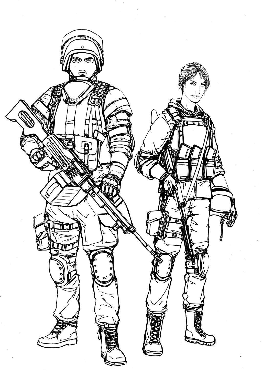 battlefield 4 coloring pages - photo#21