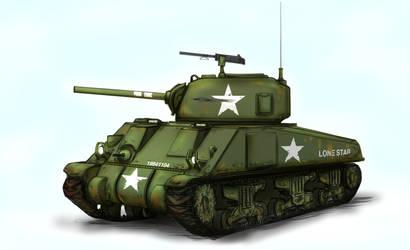 M4 Sherman by ThomChen114