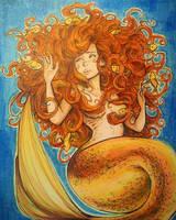 Goldfish Mermaid by ThomChen114