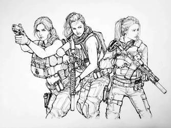 Triple Threat by ThomChen114