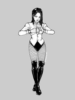 Zatanna Striptease (2/4)