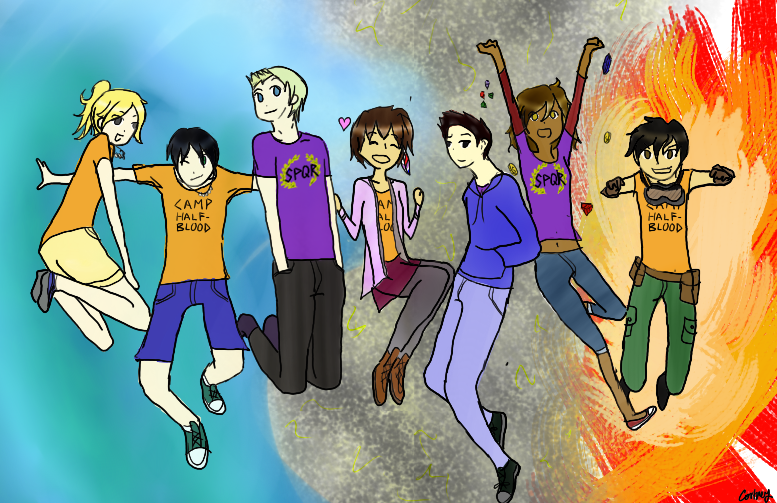 Percy Jackson Heroes Of Olympus Characters