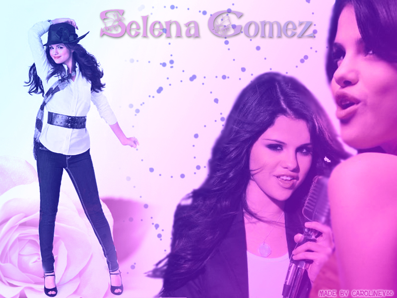 Selena Gomez Wallpaper by CarolineVerschoore on DeviantArt