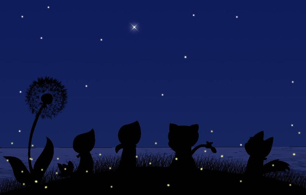 Under the stars (team) by lSnivyl