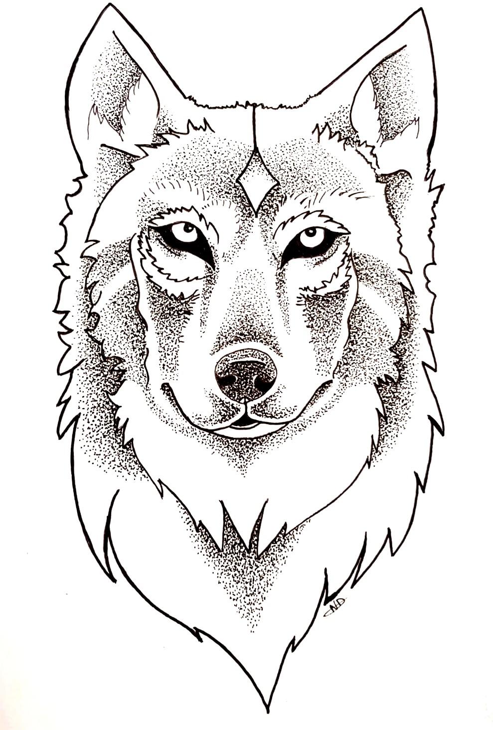 Wolf - Pointillisme