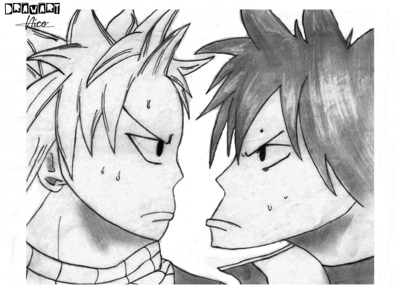Natsu et Grey - Fairy Tail