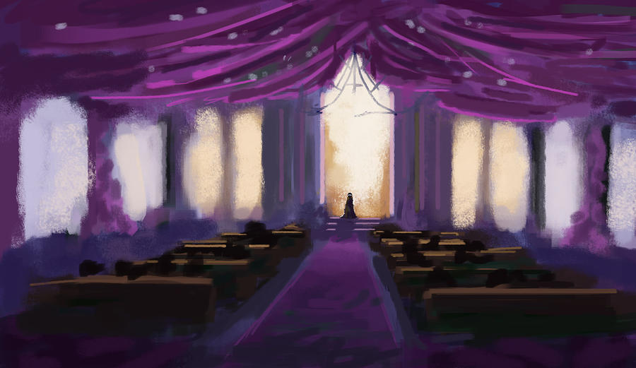 Speed Paint - Church by ZacharyHogan
