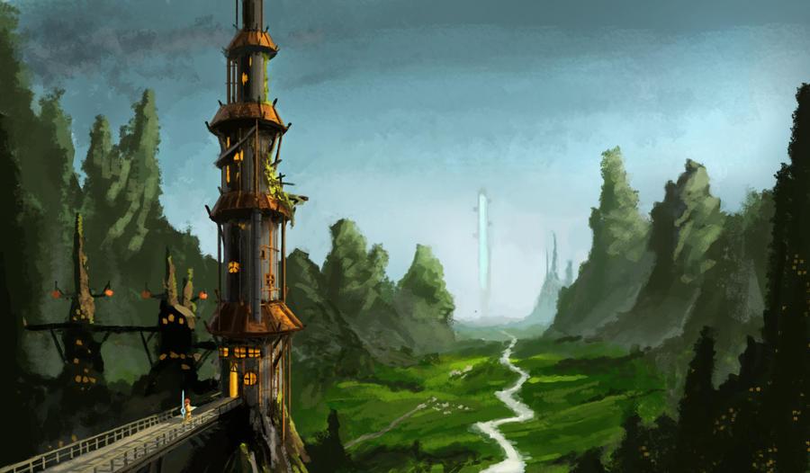 Valley - Detailed by ZacharyHogan