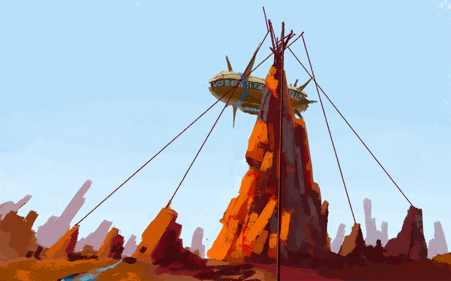 Rocky Tower Speed by ZacharyHogan