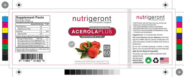 Label Design Template Bottle Nutrition Supplement by design-o-studio ...