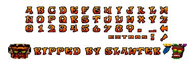 playstation crash team racing font by modelsandsprites on deviantart