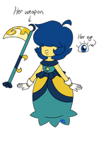 Sapphire Oc by BlueStarNights