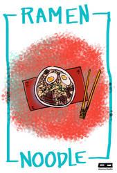 Ramen noodle by tmray