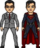Superman-Clark Kent by ElephantscagedDC