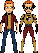 Kid Flash I- Wallace 'Wally' West by ElephantscagedDC