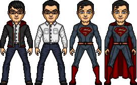 02- Kal-El/ Clark Kent- Superman by ElephantscagedDC