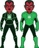 Green Lantern Sinestro by ElephantscagedDC