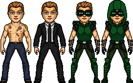 08- Green Arrow- Oliver Queen by ElephantscagedDC