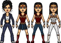 Diana Prince- Wonder Woman of Earth Two by ElephantscagedDC