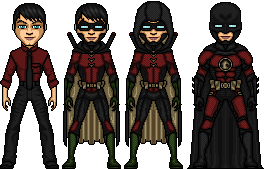 Dick Grayson- The Robin and Red Robin of Earth Two by ElephantscagedDC