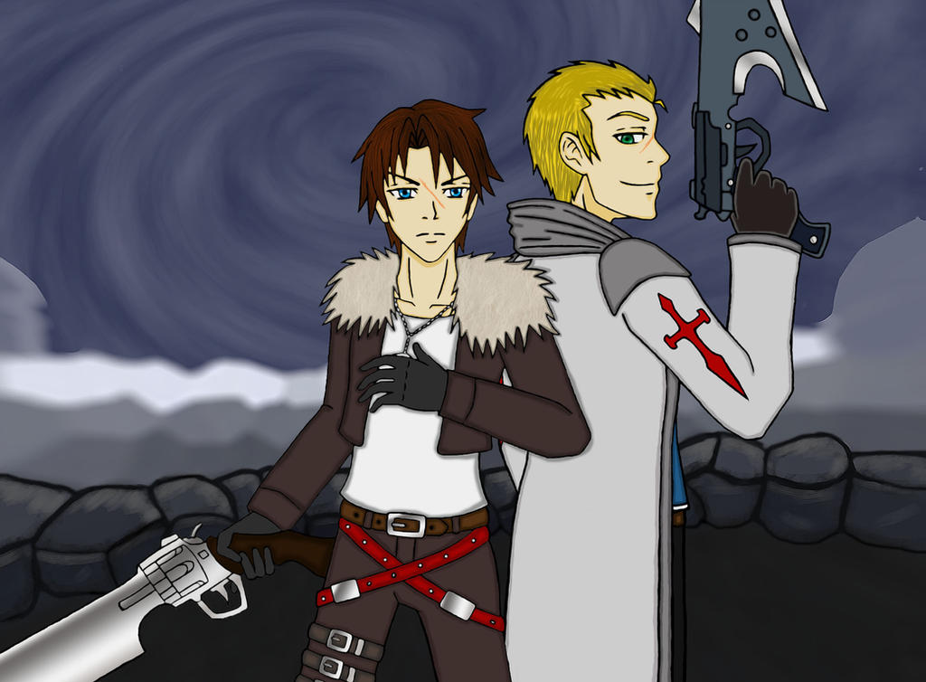 squall and seifer