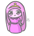 princess bubblegum by pinkbunnii