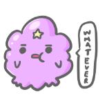 lumpy space princess by pinkbunnii