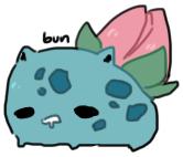 002 ivysaur by pinkbunnii