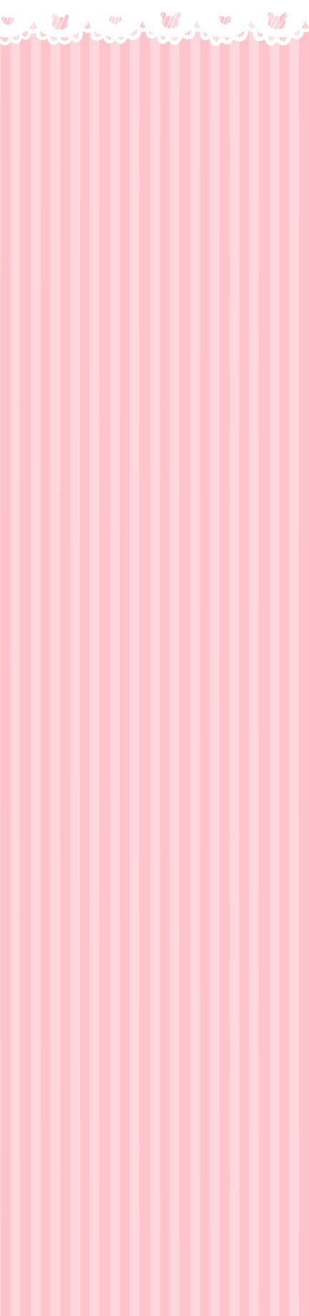 Bunnies And Hearts Pink [free to use] by pinkbunnii