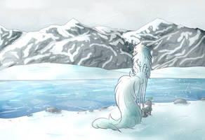 staring @ some ice by SugarFreeSyrup