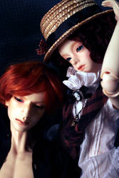 Leon and Lucy by daasper