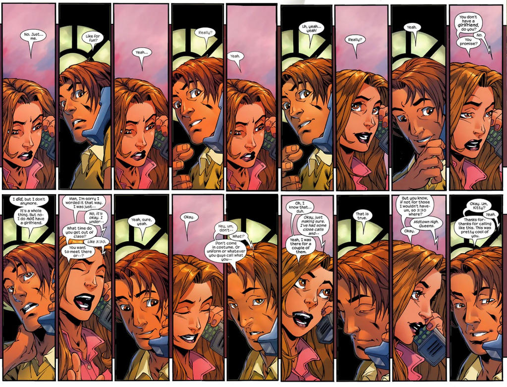 kitty pryde dating spiderman Kitty pryde and spiderman (good couple) chucknorrisreturned pete's about 26 and kitty's around 22 i really liked the idea of pete and ms marvel dating.