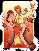 Tangerine Tango by ziinniia