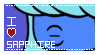 I love Sapphire Stamp {Steven Universe} by MalimooTheOriginal
