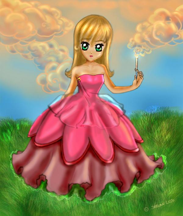 Cloud faery by Shyleynn