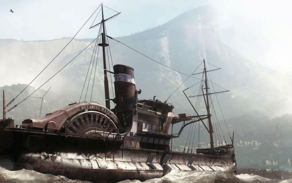 Dishonored 2 Dreadful Whale Concept Art By Thelabartist