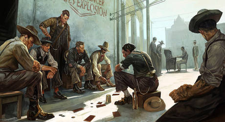 Dishonored 2 - People of Karnaca Concept Art