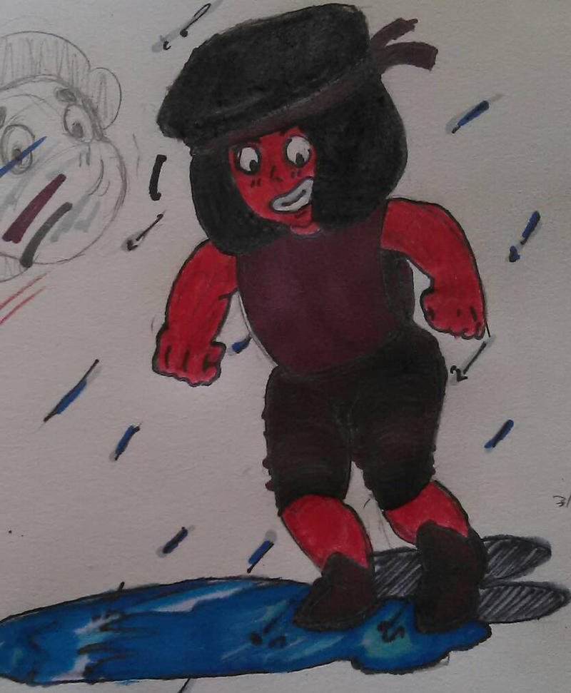 Ruby in the Rain by chibipanda25